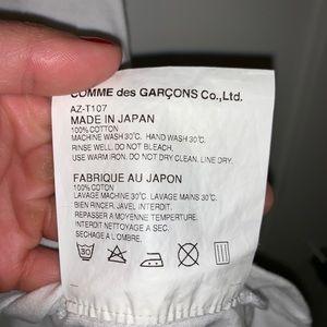 Comme des Garcons Tops - Comme des Garçons women's white t shirt (M)